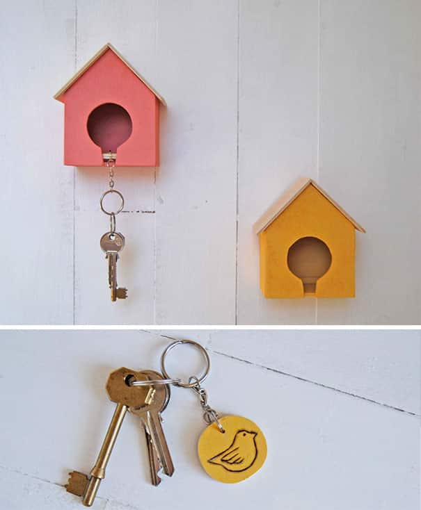24 Cool and Creative Key Holders