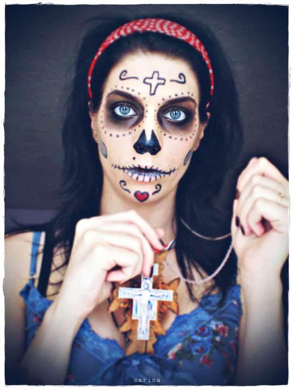 22 Breathtaking Dia De Los Muertos Make Up Art Designbump