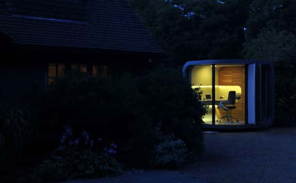 Backyard Office Pod for People Working from Home