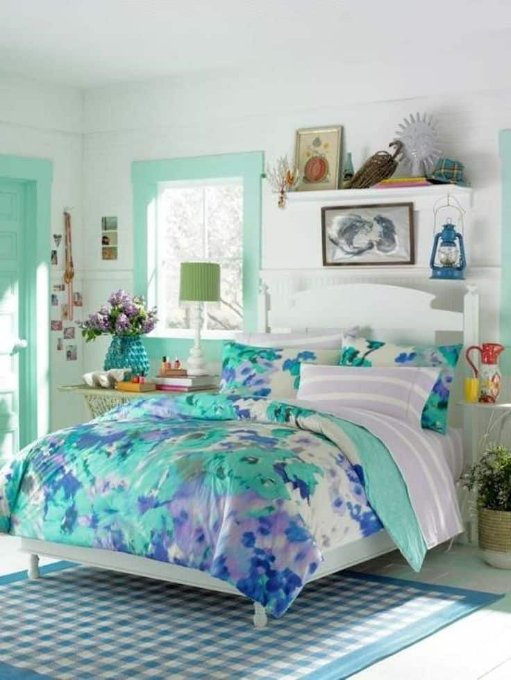 30 Smart Teenage Girls Bedroom Ideas -DesignBump on Decorations For Girls Room  id=32884