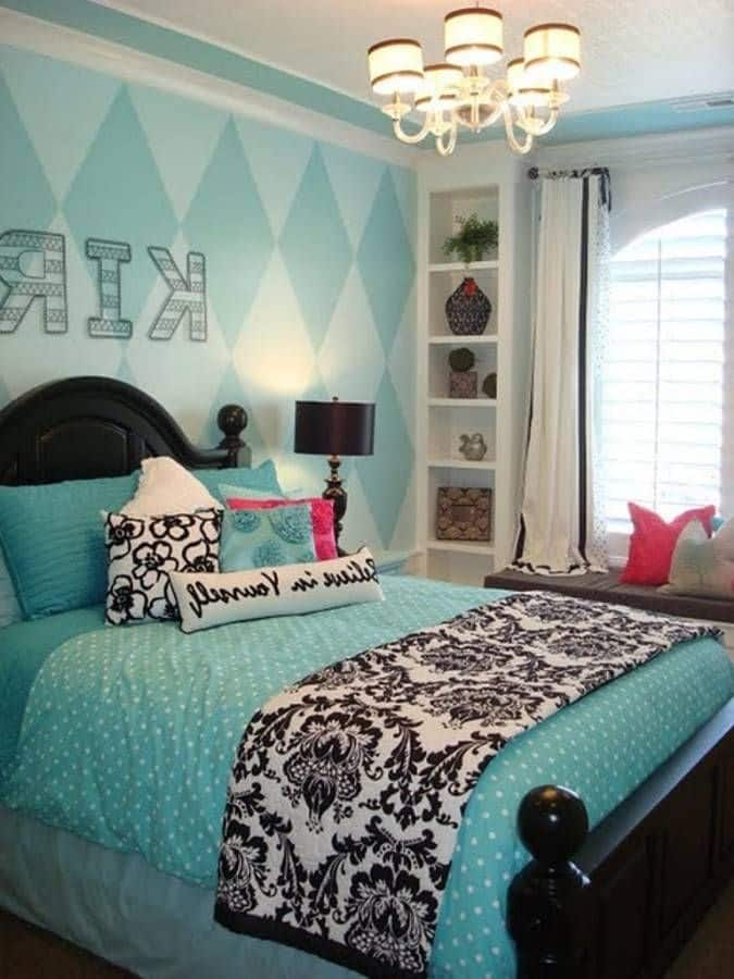 Bedroom Ideas For A Teenage Girl Part - 33: 30 Smart Teenage Girls Bedroom Ideas