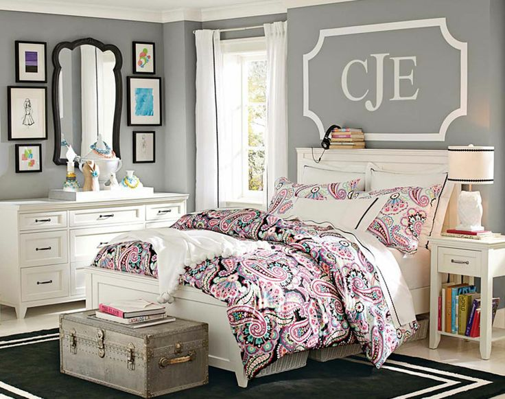 30 Smart Teenage Girls Bedroom Ideas -DesignBump on Teen Rooms Girls  id=43875