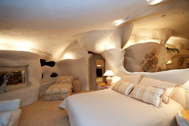 This is a well lit cave