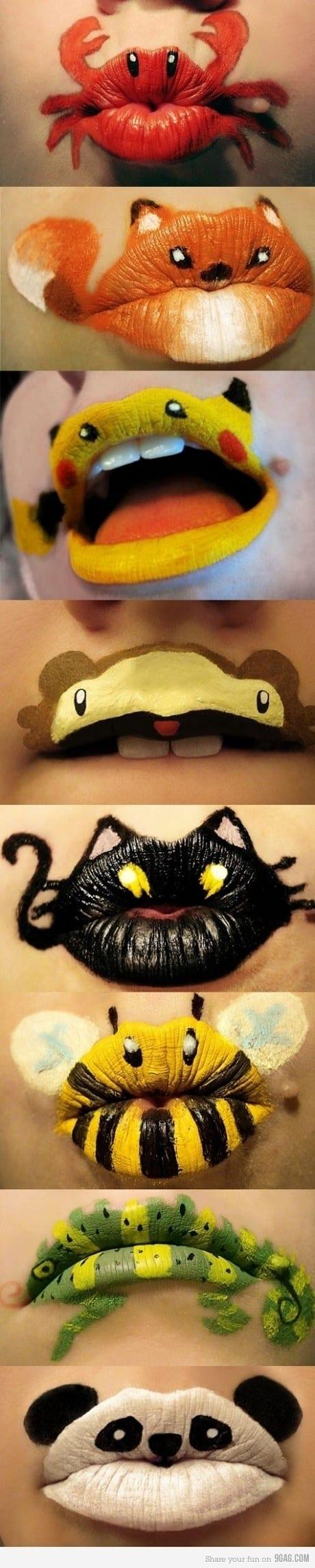 27 Spooky Halloween Lip Makeup Ideas Designbump