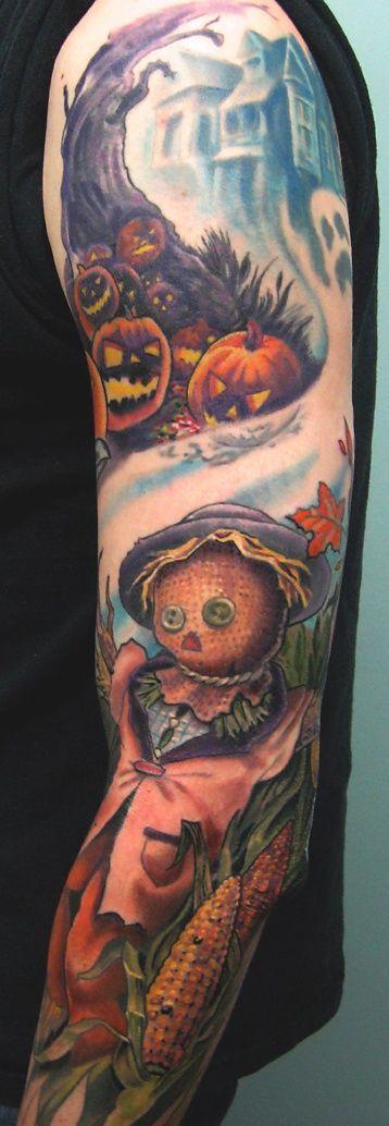 50 Awesome and Creepy Halloween Tattoos