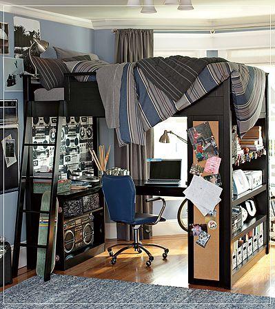 30 Awesome Teenage Boy Bedroom Ideas -DesignBump on Rooms For Teenage Guys  id=37918