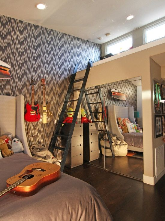 Awesome Teenage Boy Bedroom Ideas DesignBump - Cool bedrooms for boys