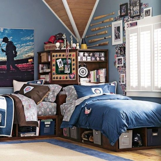 30 awesome teenage boy bedroom ideas designbump - Teen boy bedroom ideas ...