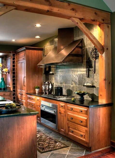 40 Rustic Kitchen Designs to Bring Country Life -DesignBump