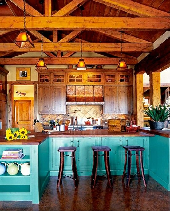Rustic Kitchen Design Ideas: 40 Rustic Kitchen Designs To Bring Country Life -DesignBump