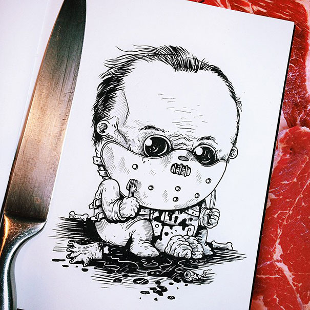 baby-terrors-iconic-horror-characters-illustrations-alex-solis-18