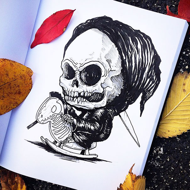 baby-terrors-iconic-horror-characters-illustrations-alex-solis-25