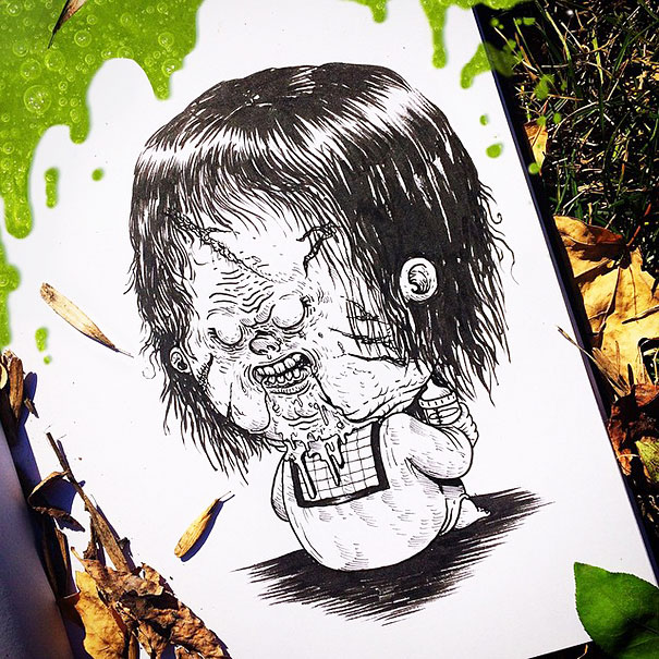 baby-terrors-iconic-horror-characters-illustrations-alex-solis-27