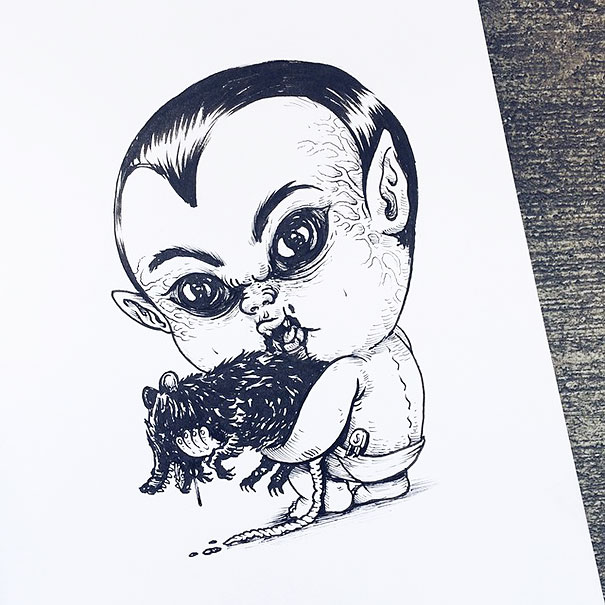 baby-terrors-iconic-horror-characters-illustrations-alex-solis-3