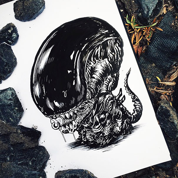 baby-terrors-iconic-horror-characters-illustrations-alex-solis-30