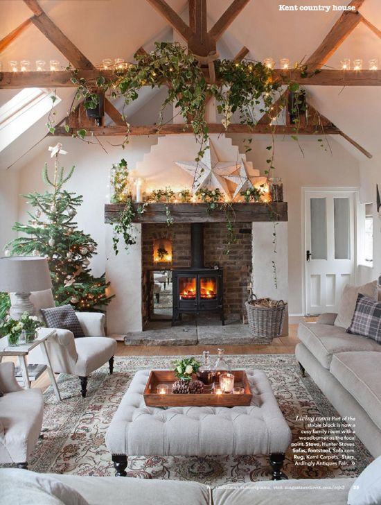 41 Christmas Decoration Ideas for Your Living Room