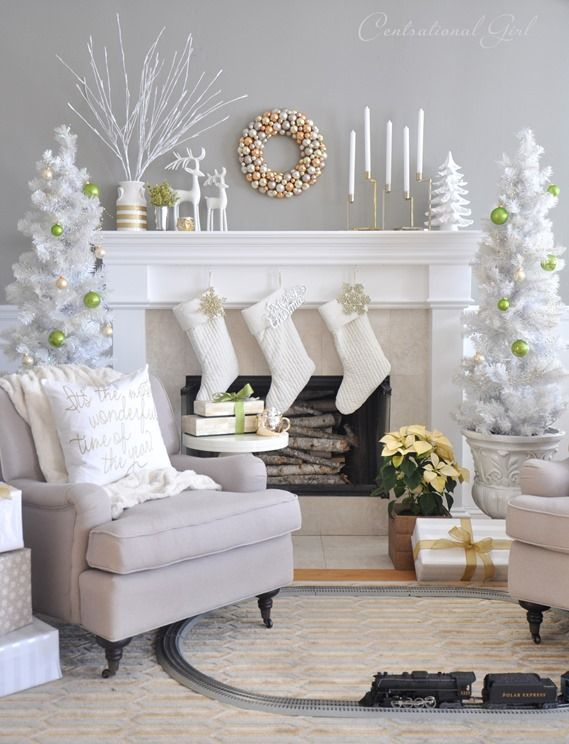 Christmas Decoration Living Room Ideas 004 Part 39