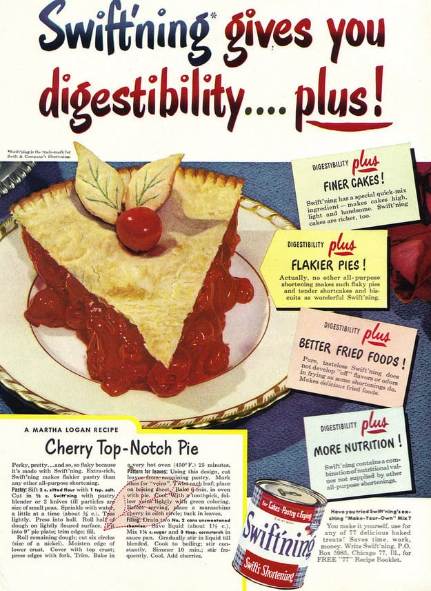 An ad for what must have been an ill-fated Crisco competitor:
