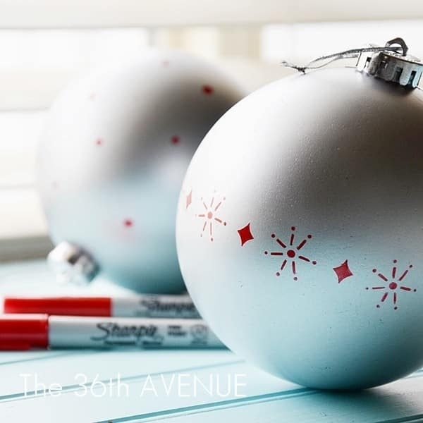 16. Christmas Ornaments
