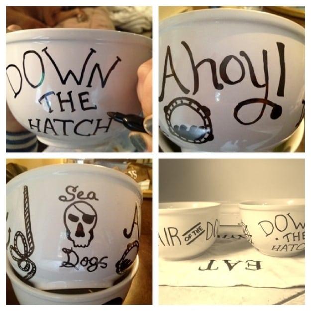 31. Dog Bowls