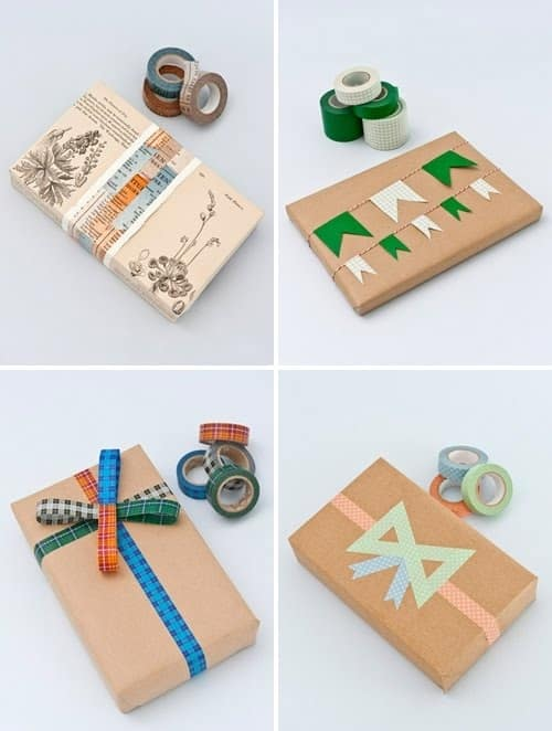 You can do pretty much anything you've ever wanted with washi tape: