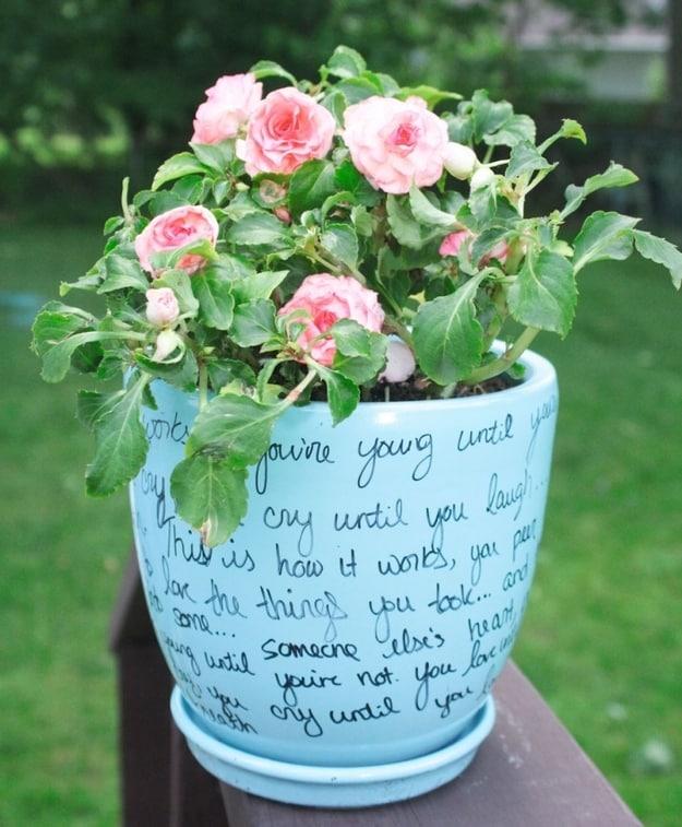 13. Flower Pot