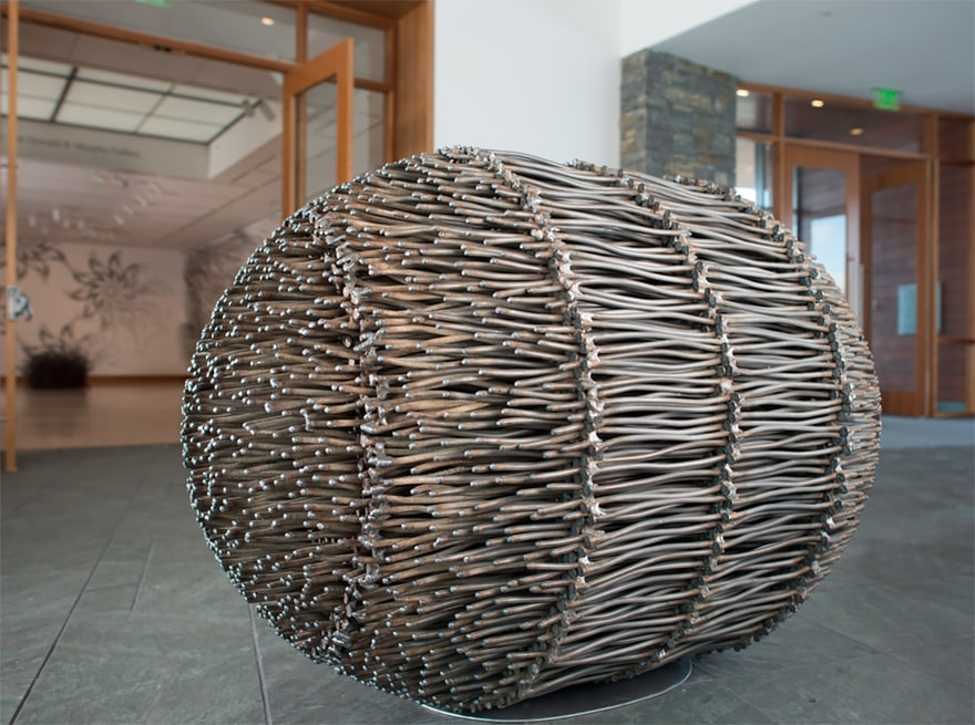 The Parts House >> 24 Creative Sculptures Made With 12-Inch Nails -DesignBump