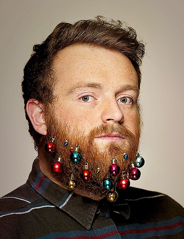 Beard Into A Christmas Tree