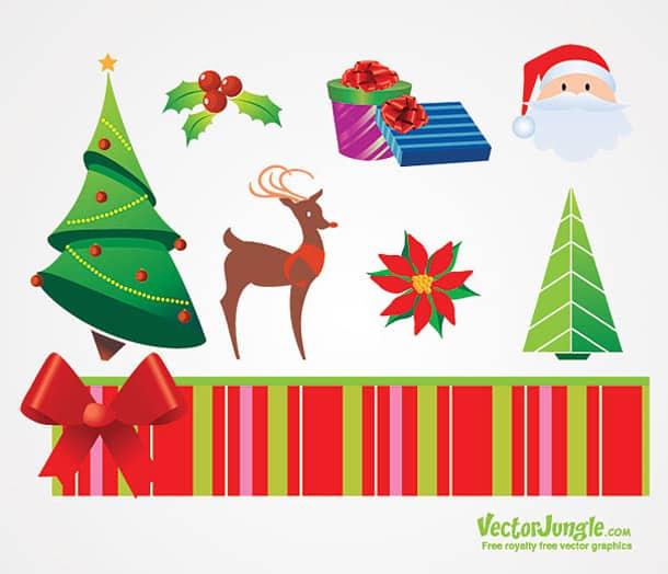 Christmas Vectors.47 Best Free Christmas Vector Graphics Designbump