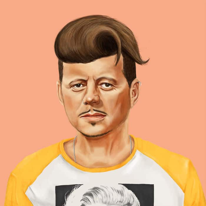 18 World's Greatest Leaders Reimagined As Hipsters