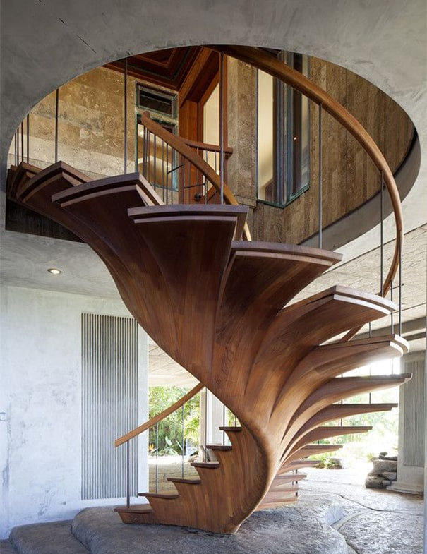 Wooden Tree Stairs