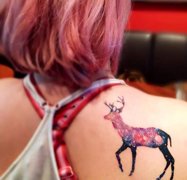 stag tattoo ideas