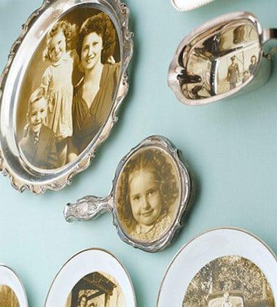 Transform flea market finds into antique photo treasures.