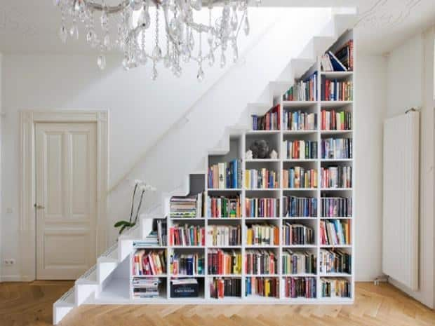 Create a special spot for all your precious books.