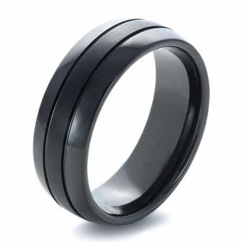 22 stylish cool engagement rings for men designbump - Sports Wedding Rings