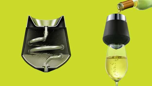 Icecap — Wine Chiller And Aerator