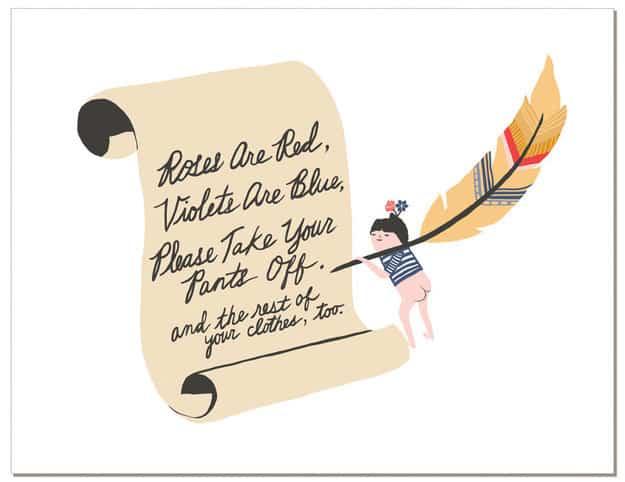 For a Valentine who appreciates fine poetry.