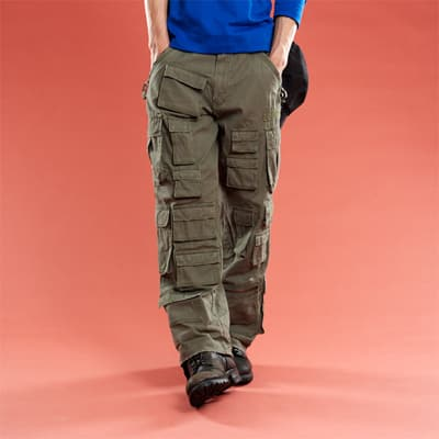 Invest in a good pair of cargo pants.