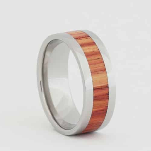 Wood Inlay Ring, $190