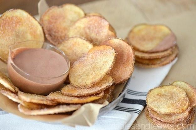 Churro Chips