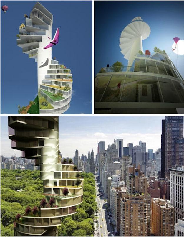 """The Stairscraper: """"A Desert Green"""""""