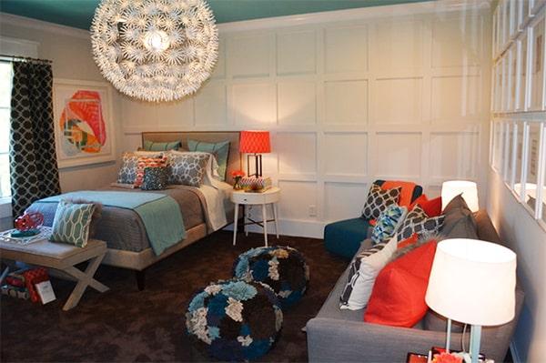 Teen Girls Bedroom Lounge
