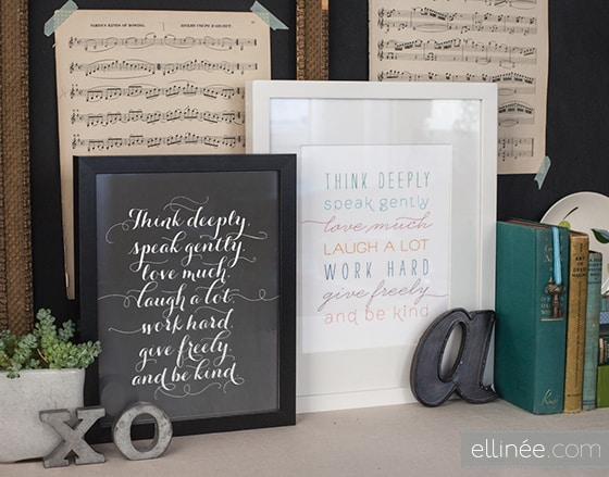 NewYearFramableQuotes 30 fabulous free printables {for the home}
