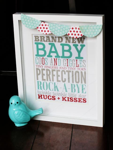 baby subway art 30 fabulous free printables {for the home}