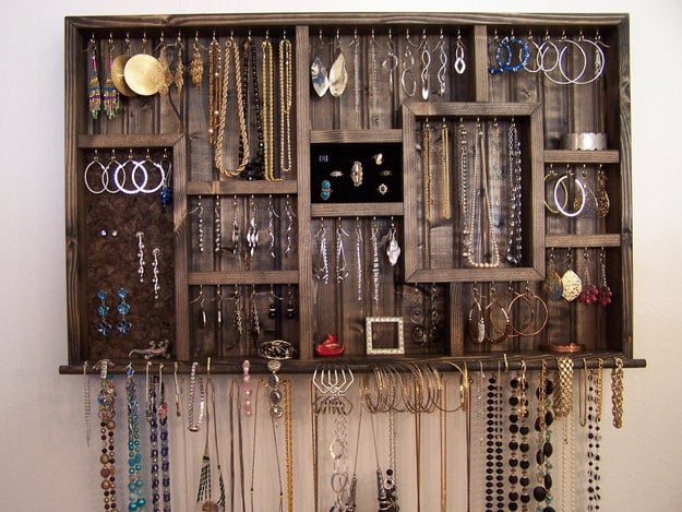 This display will treat your jewelry collection like the work of art it is.