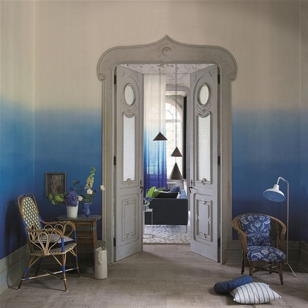 Make your whole room ombre.