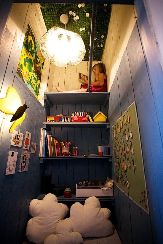 Design a kid's hideout.