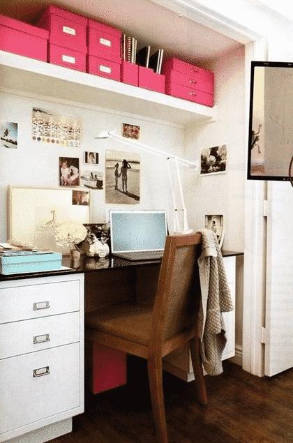 Take advantage of bright spaces.