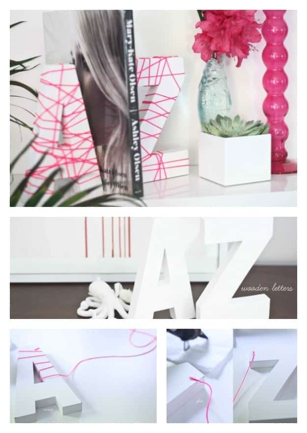 Neon Wrapped Letters