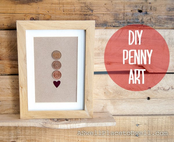 Framed pennies from the birth year of each of your family members.